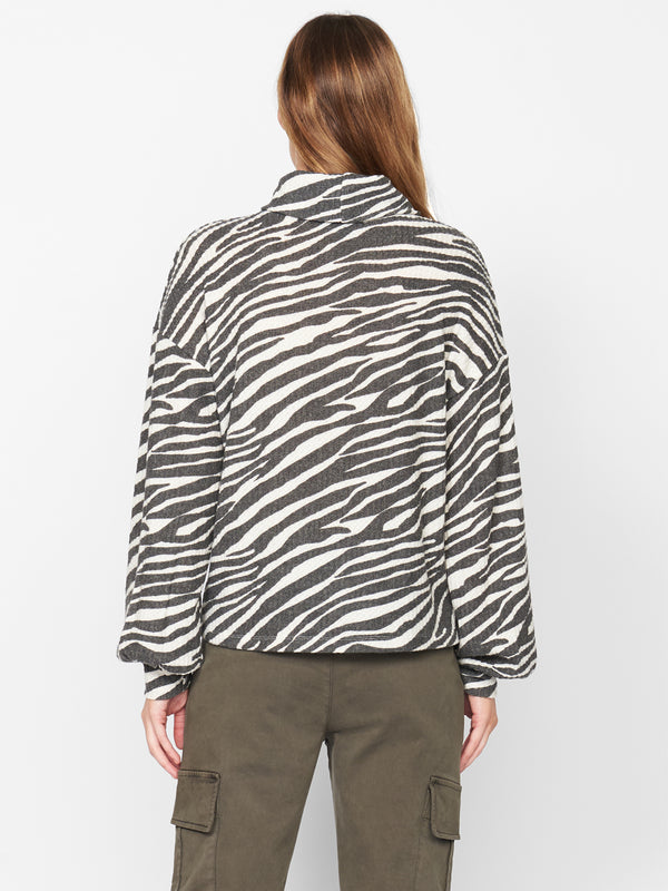 Klara Waffle Top Abstract Animal Soymilk