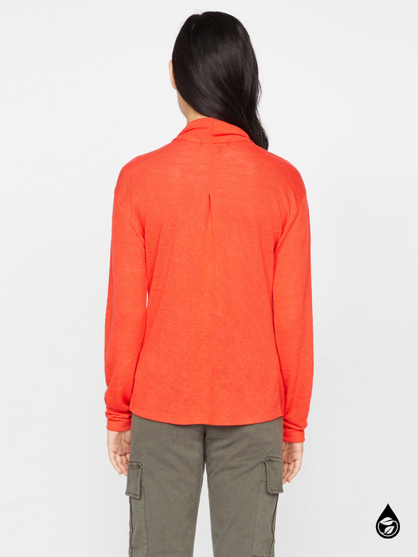 Knot Interested Top Punk Red