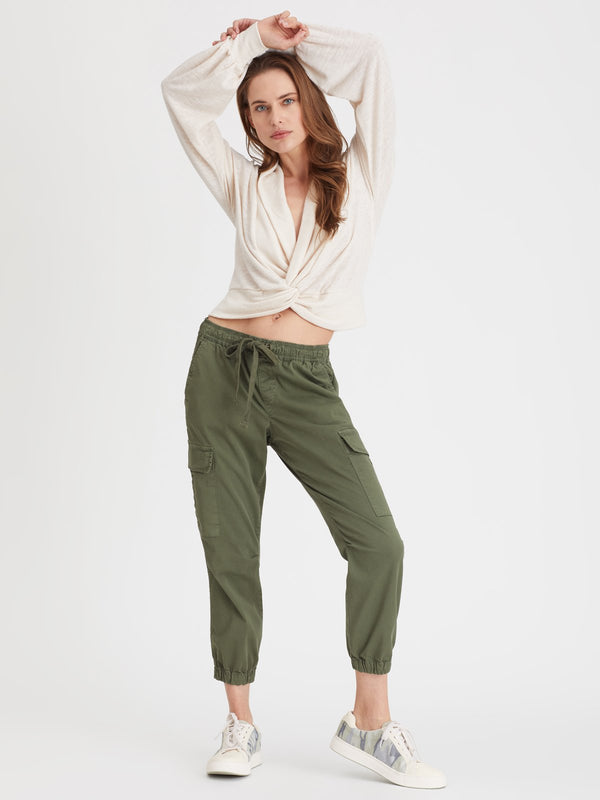 Squad Crop Jogger Fatigue - Pant