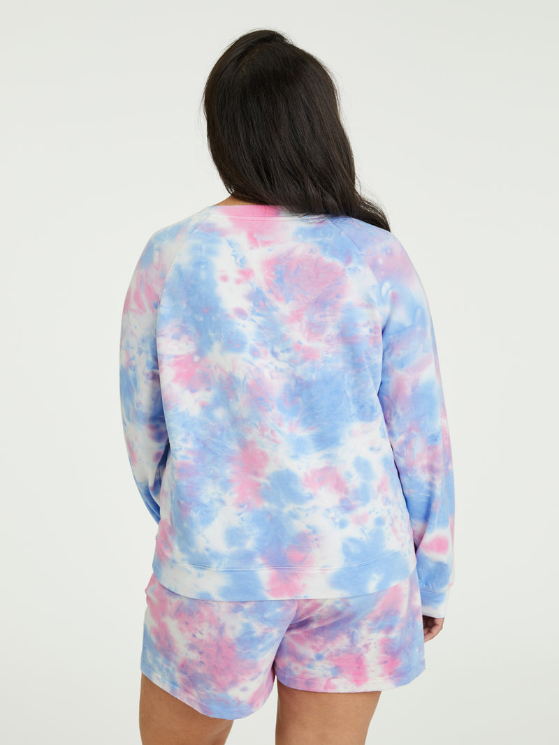 Happy Days Sweatshirt Seamist Punch Tie Dye Inclusive Collection