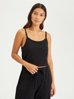 Essential Baby Cami Black