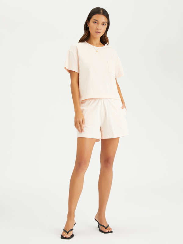 Essential Knit Short Rosewater