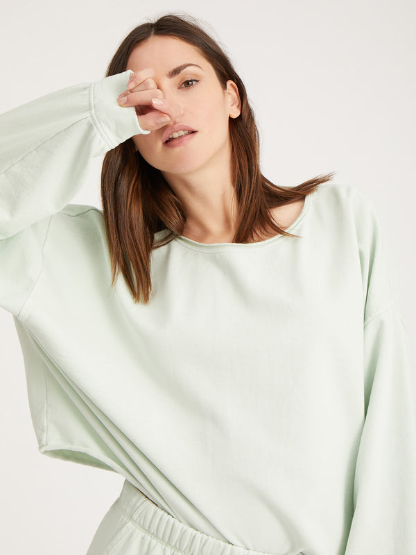 Perfect Sweatshirt Mint - Mint / XS/S - Sweatshirt