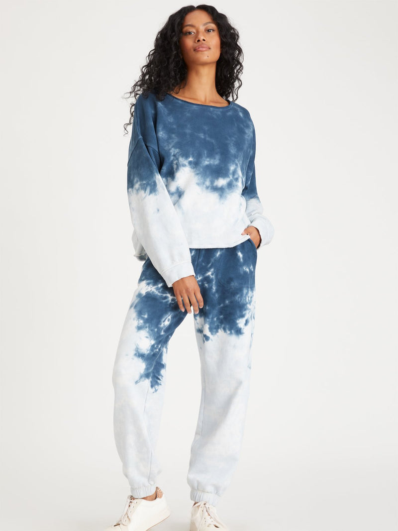 Perfect Sweatpant Blue Tie Dye - Sweatpant