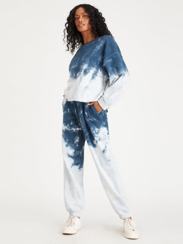 Perfect Sweatpant Blue Tie Dye