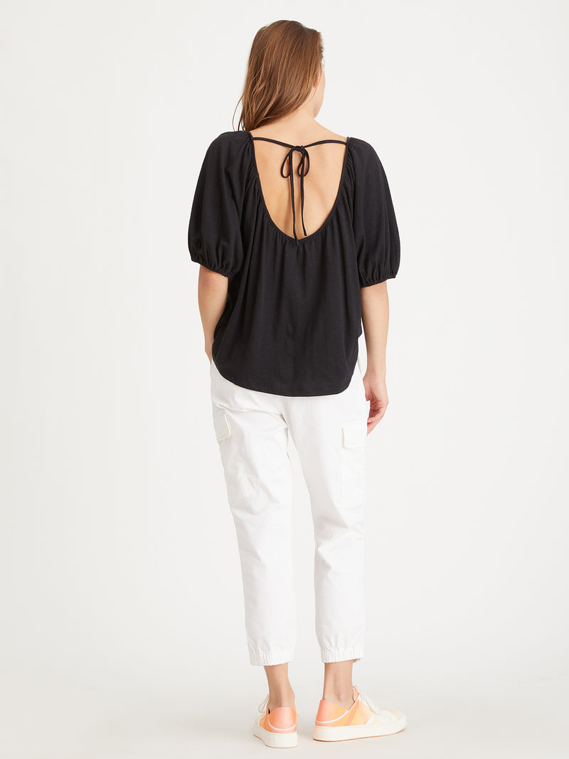 The Nap Tee Black - Knit Top