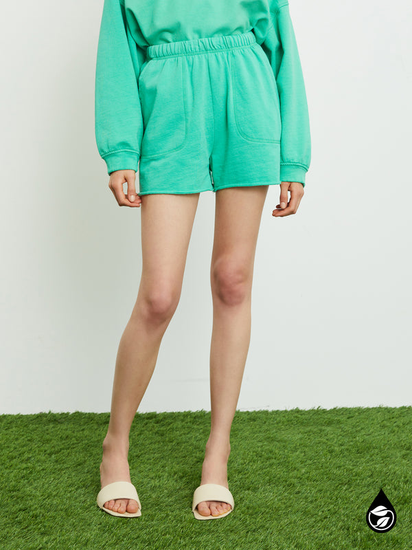 Perfect Sweatshort Beach Green