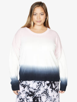 Sunsetter Tie Dye Sweater Black Pink Air Ombre Inclusive Collection