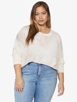 Sunsetter Tie Dye Sweater Cloud Wash Inclusive Collection