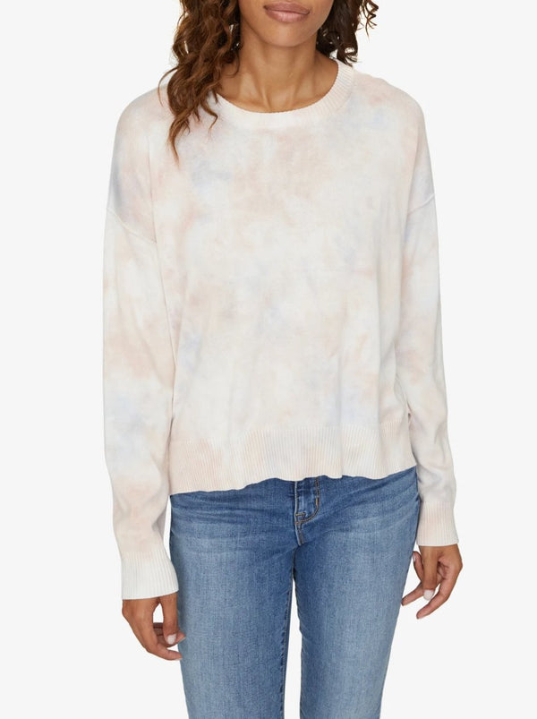 Sunsetter Tie Dye Sweater Cloud Wash