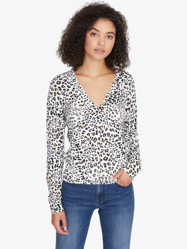 Xoxo Sweater Leopard