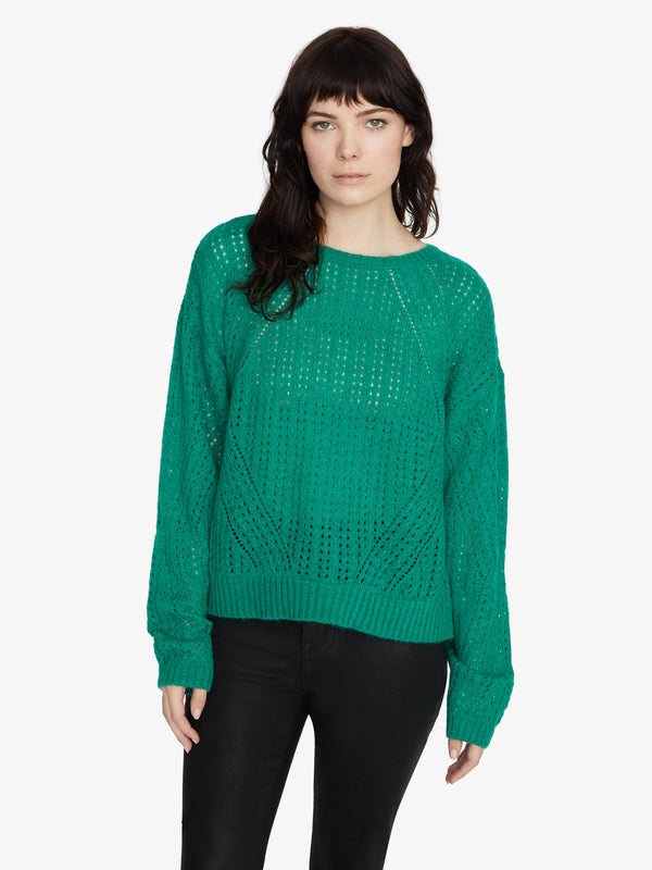 Hole In One Sweater Emerald