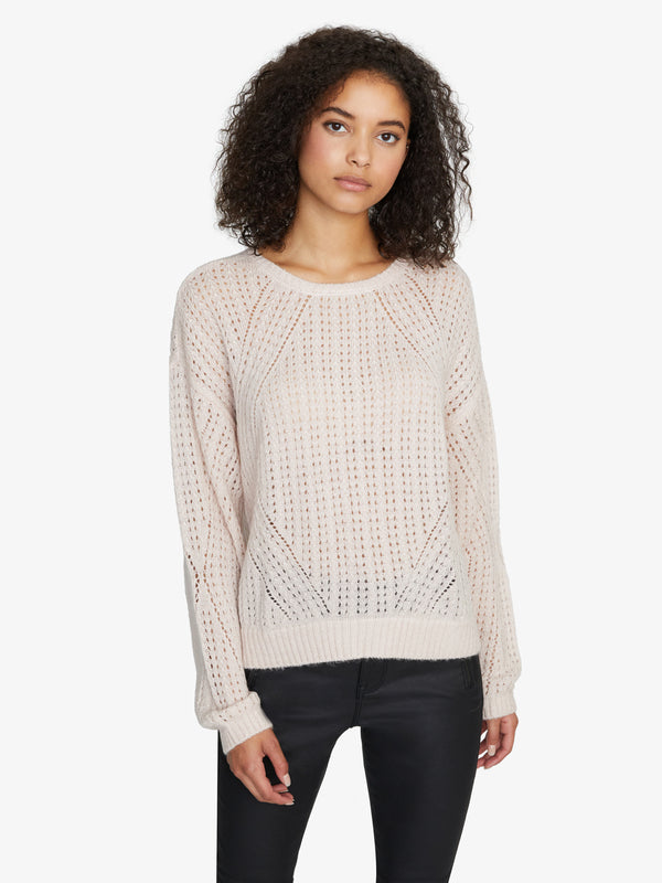 Hole In One Sweater Light Pearl