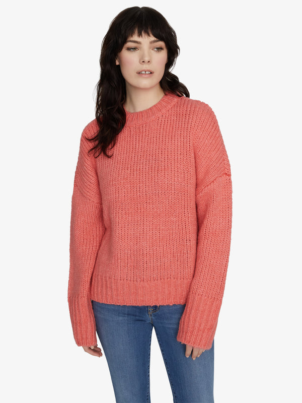 Telluride Sweater Winter Coral
