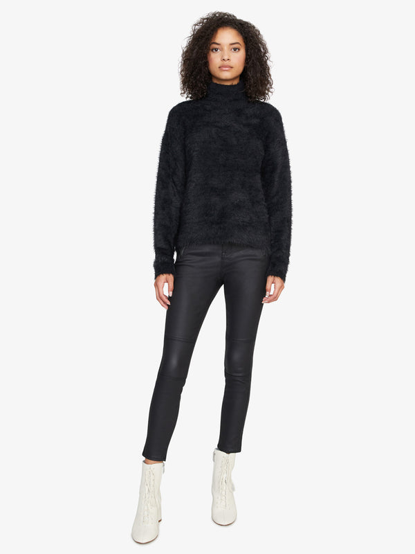 Super Soft Pullover Sweater Black