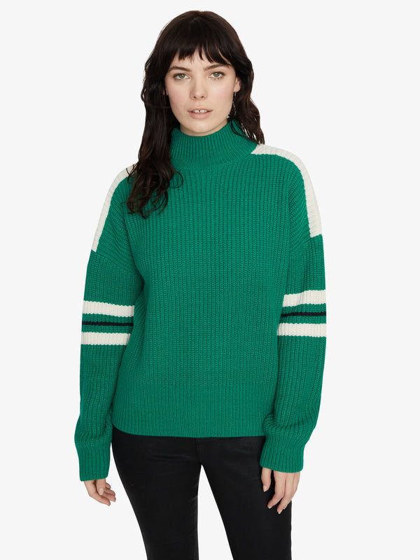 Speedway Sweater Emerald/Moonstone/Black