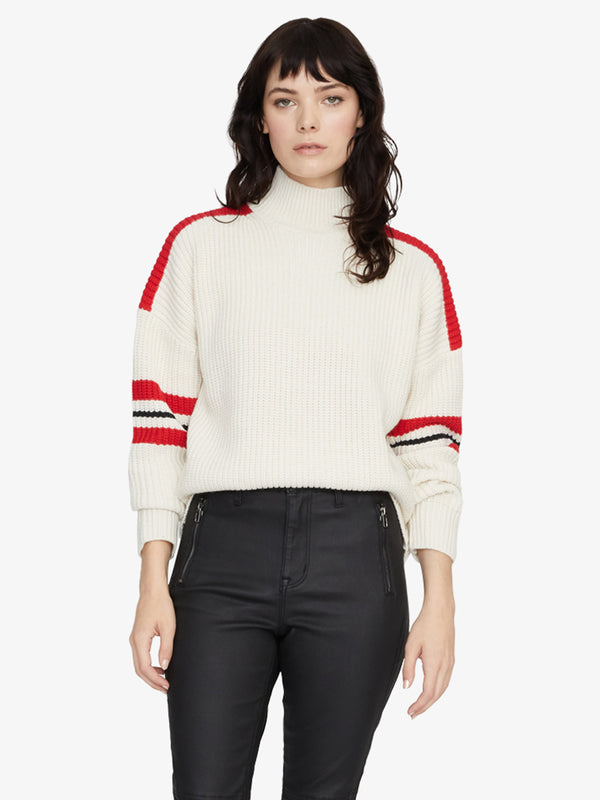 Speedway Sweater Colorblock