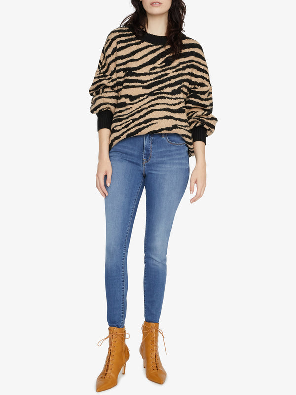 Wild Kingdom Sweater Zebra