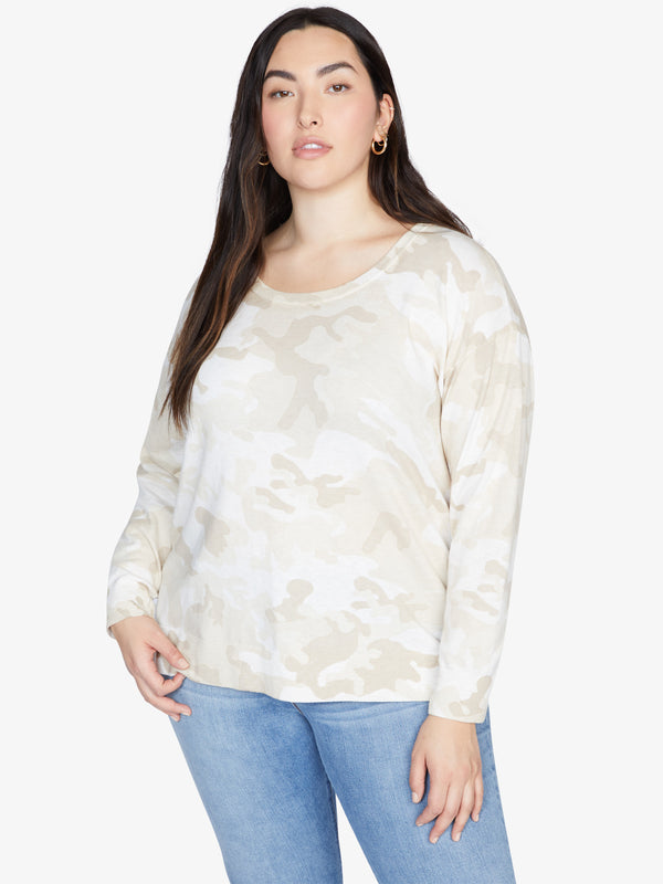 Camo Sweater Sand Dune Camo Inclusive Collection
