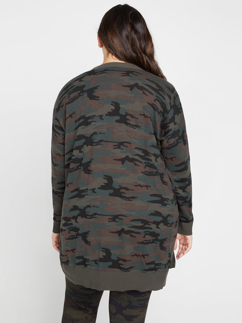 Play Cardi Forest Camo Inclusive Collection - Sweater