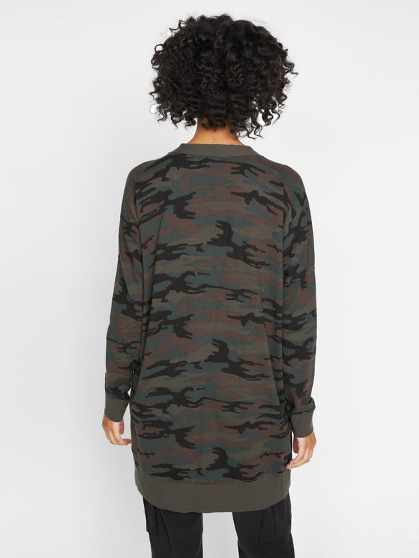Play Cardi Forest Camo - Sweater