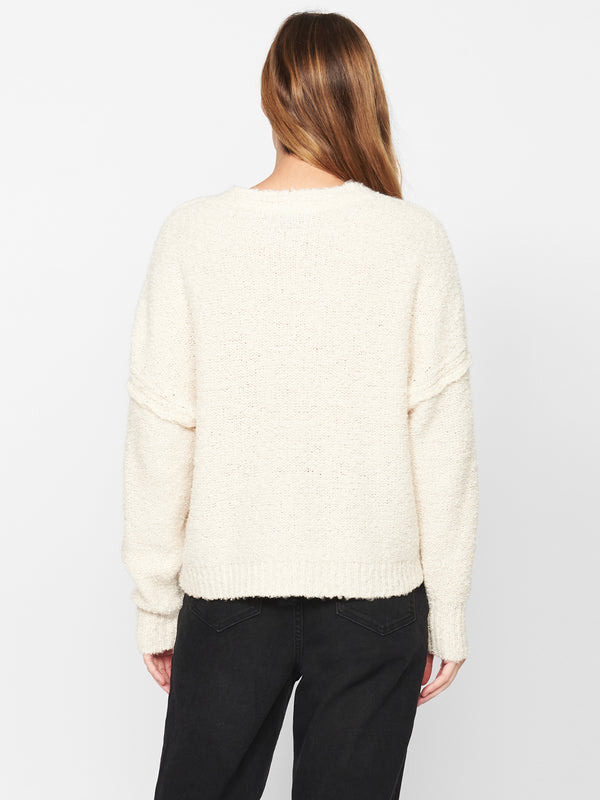 Ultra Cozy Sweater Soy Milk