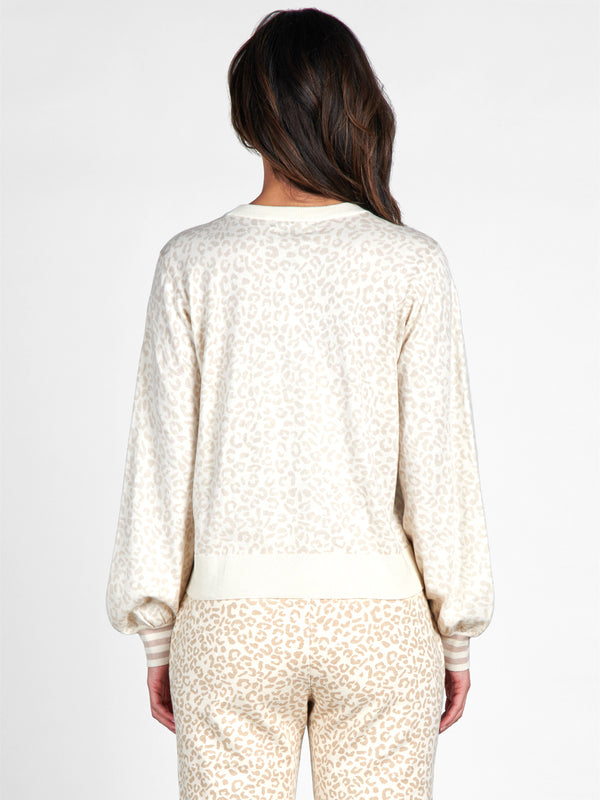 Barely Leopard Sweater - Sweater