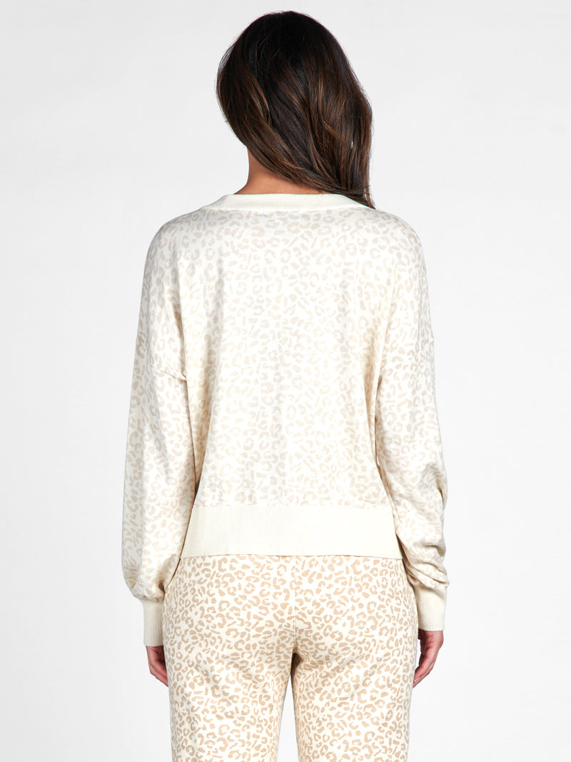 Barely Leopard Cardi - Sweater