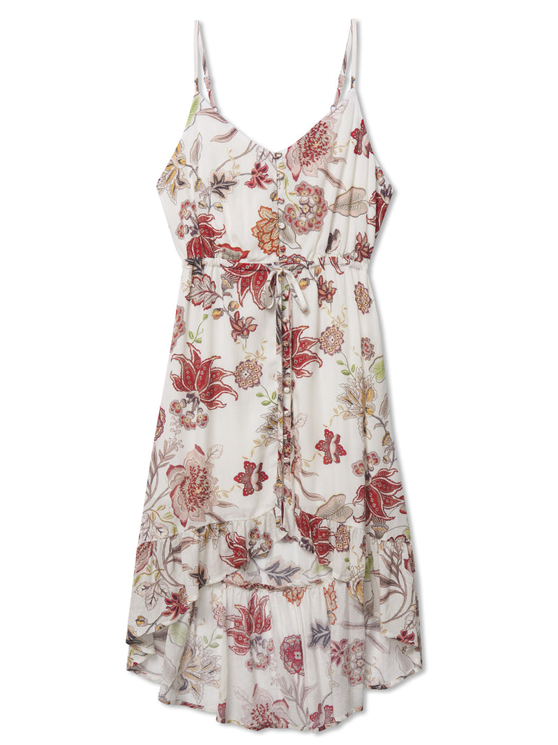 Palm Spring Button Front Dress Prairie Days