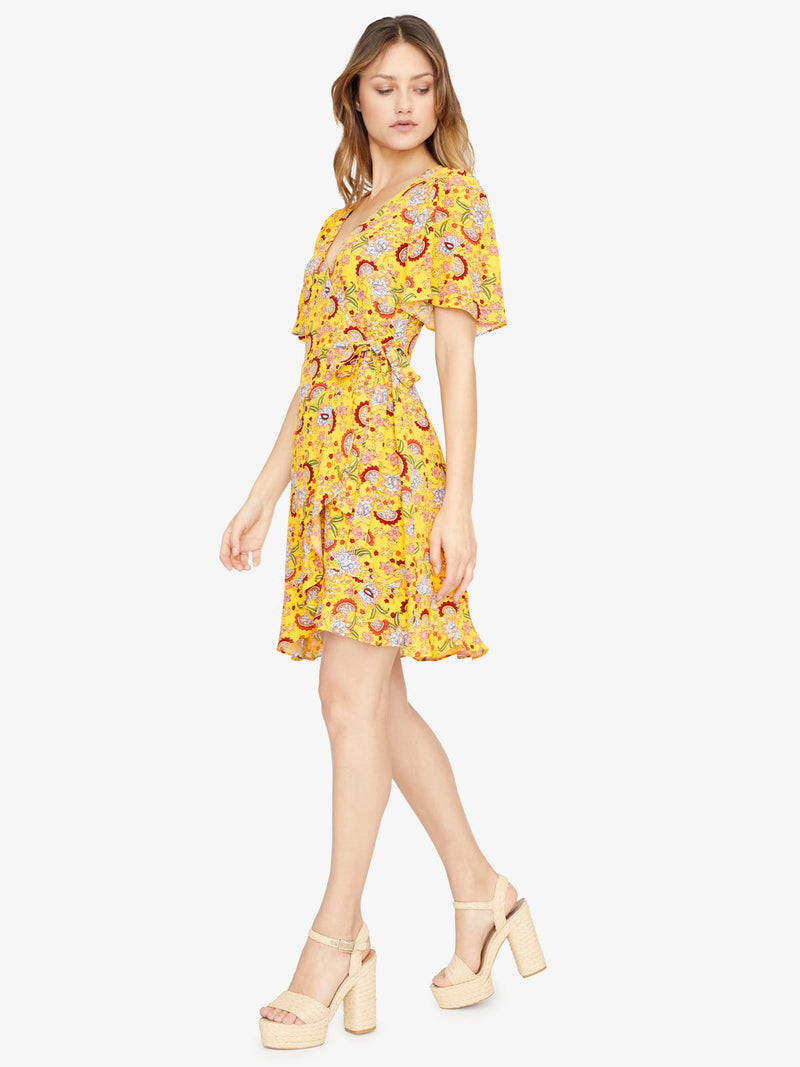 Sassy Wrap Dress Sunrays