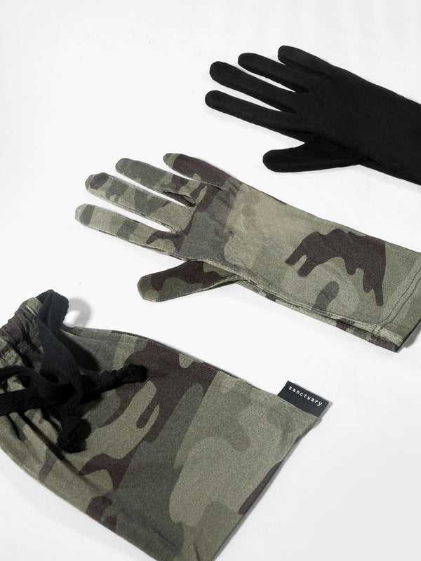2 Pack Antibacterial Fashion PPE Gloves  Heritage Camo