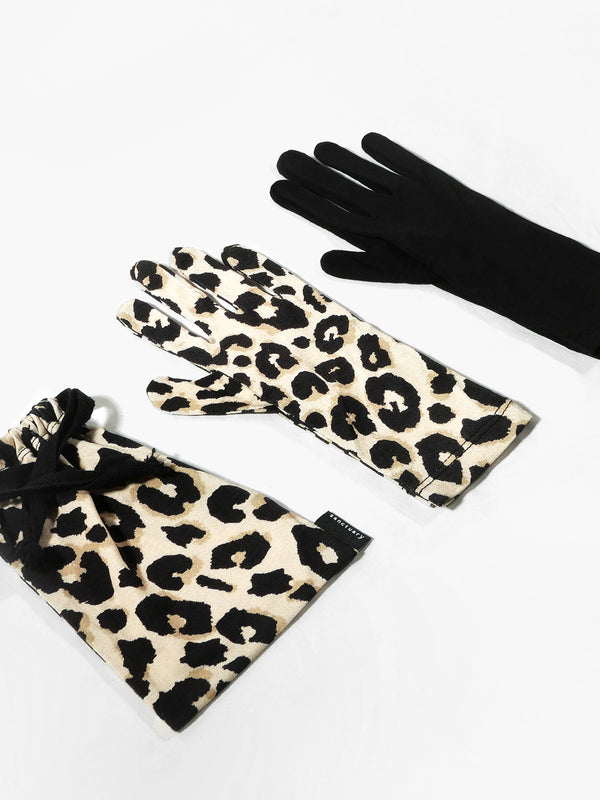 2 Pack Antibacterial Fashion PPE Gloves Classy Cat