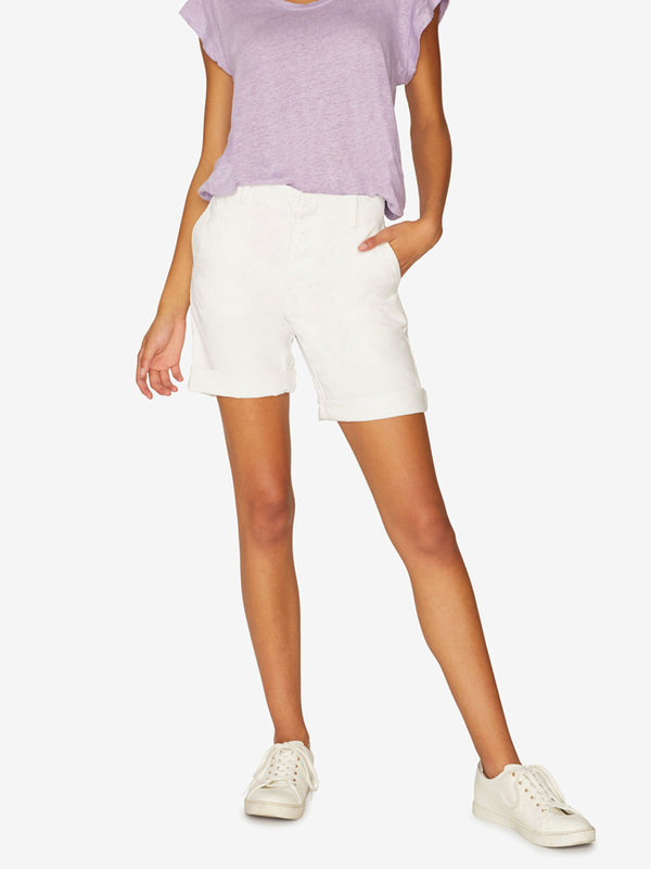 Boardwalk Bermuda Short Brite White