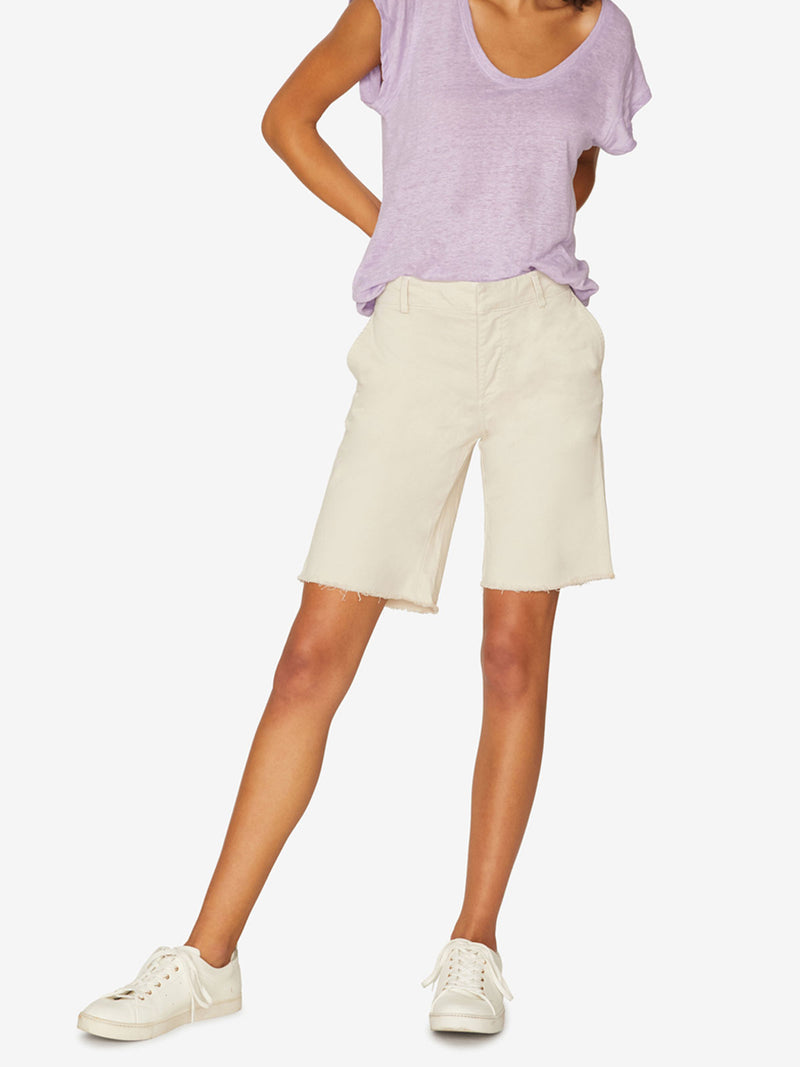 Boardwalk Bermuda Short Washed Pebble