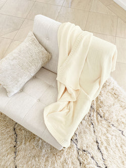 Chenille Throw Blanket