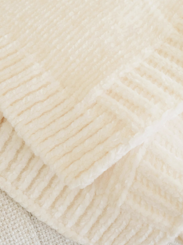 Chenille Blanket Buttercream