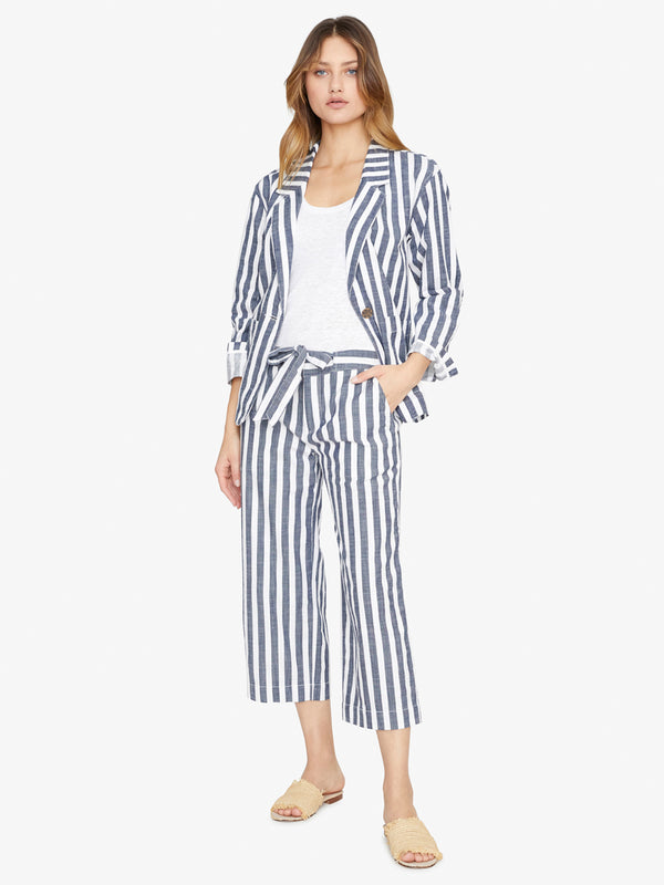 Sunrise Soft Blazer Raven Stripe
