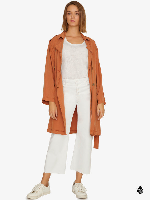 Wind Swept Soft Trench Sierra
