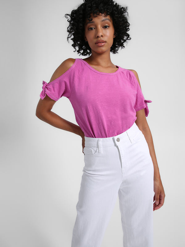Lou Lou Tee Summer Pink Solid