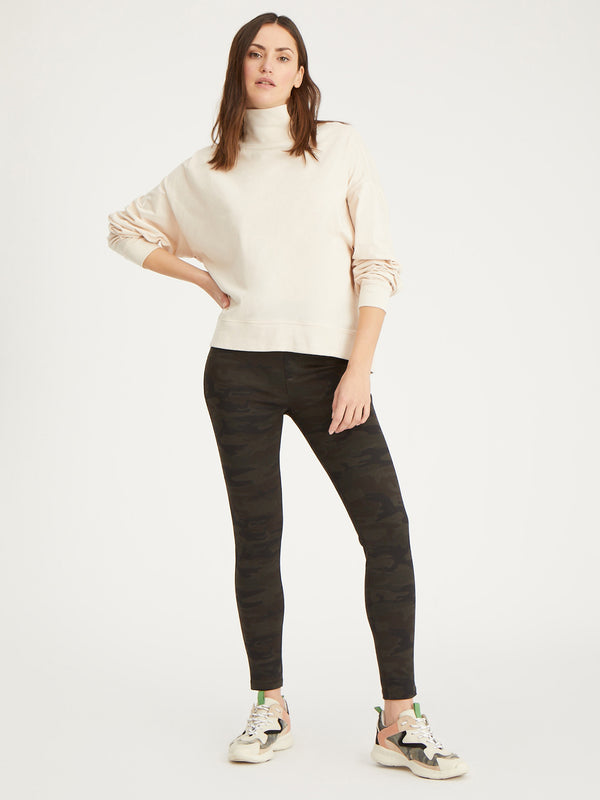 Easy Winter Mock Bare - Bare / XXS - Knit Top
