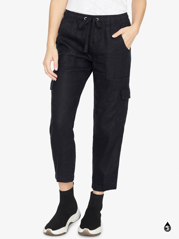 Discoverer Pull On Cargo Pant Black