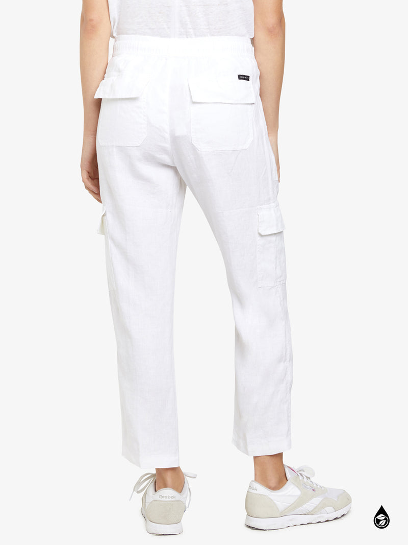 Discoverer Pull On Cargo Brite White