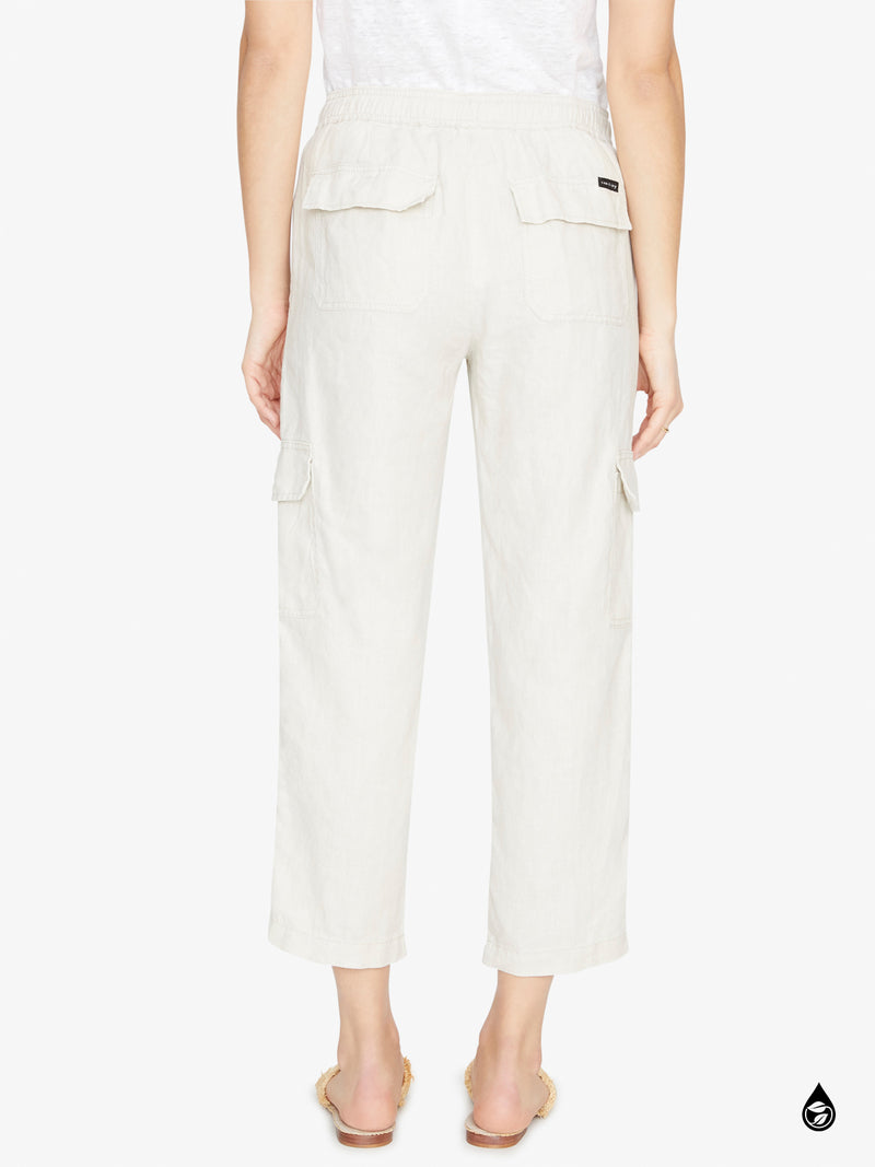 Discoverer Pull On Cargo Pant Washed Pebble