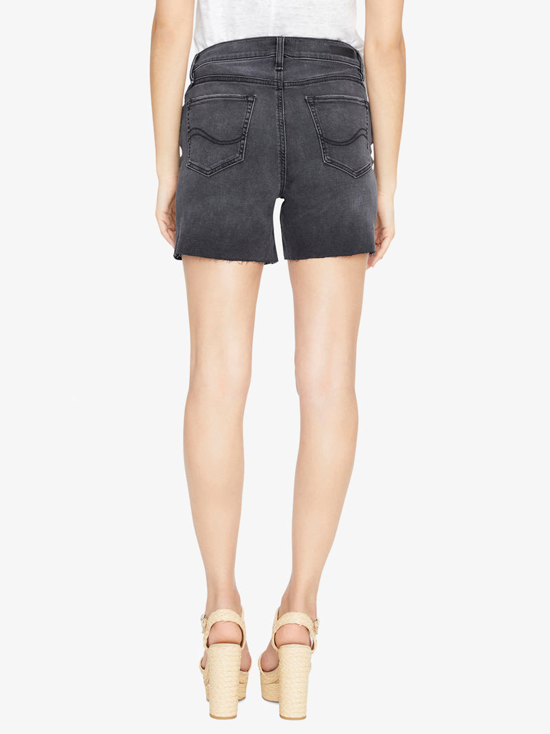 Fearless High Rise Short Coyote Black
