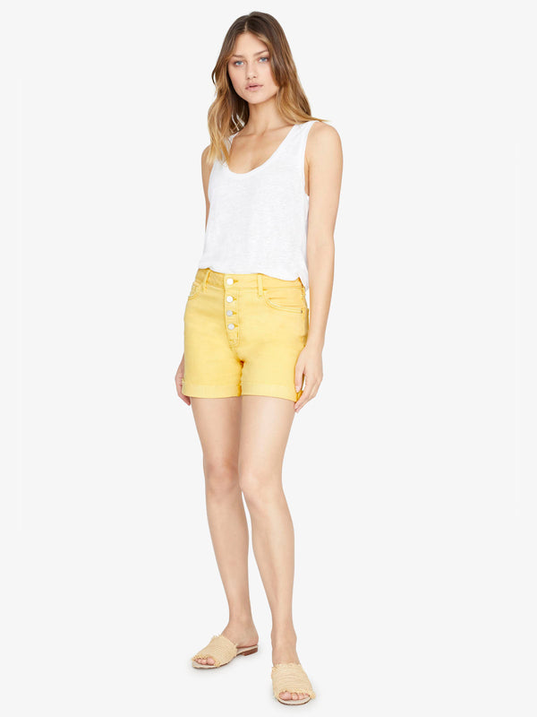Fearless High Rise Short Desert Marigold