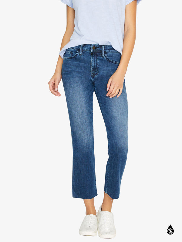 Modern Standard Straight Crop Jean Elsinore Blue