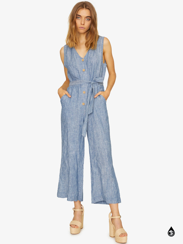 Celene Jumpsuit Dove Wash