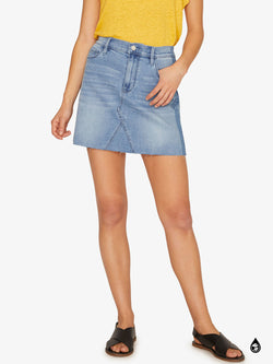 Shadow 5 Pocket Mini Skirt Mojave Blue