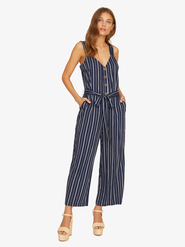 Sedona Jumpsuit Black Iris Multi