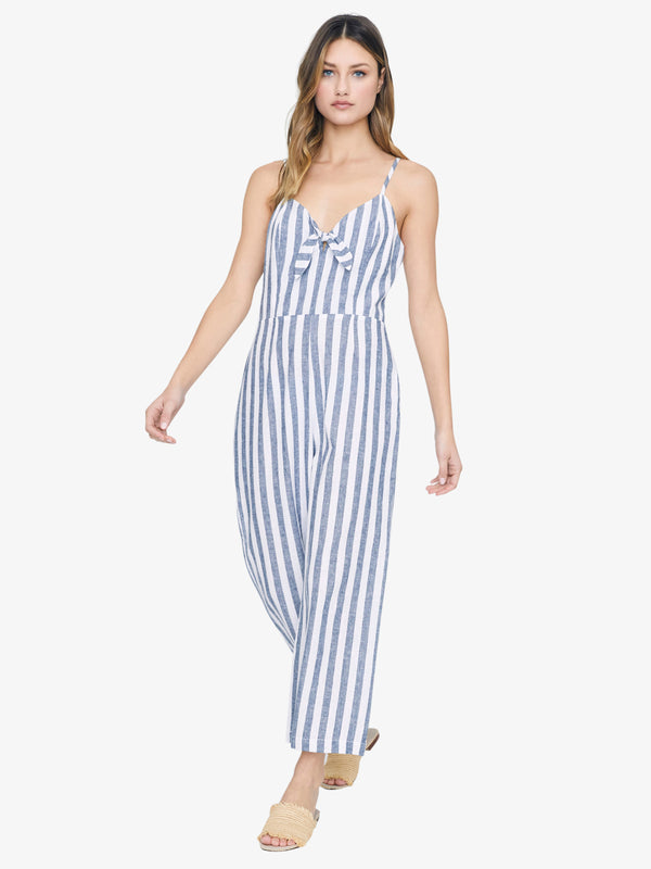 Take Away Jumpsuit Be Authentic Stripe